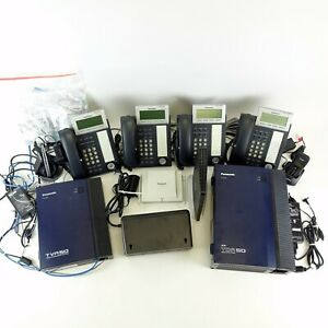 Complete Panasonic Voice Phone System + More! KX-DT346 KX-TVA50 KX-TDA50