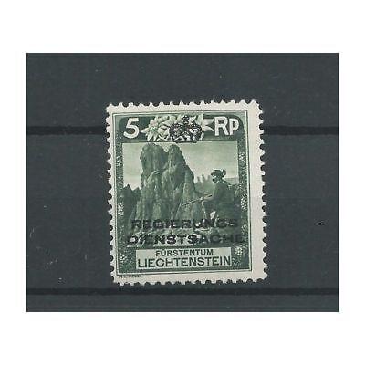 """Europa Briefmarken 100% QualitäT Liechtenstein 1a Dienst """"landschaften"""" Mh/ongebr Cv 60 €"""