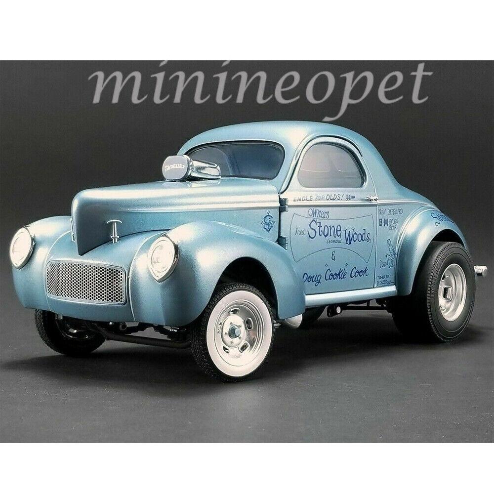 ACME A1800912 1941 Gasser escroc II 1 18 Diecast Pierre Bois Cook Bleu