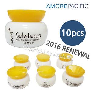Sulwhasoo-Essential-Firming-Cream-5ml-x-10pcs-50ml-Sample-AMORE-2016-Renewal