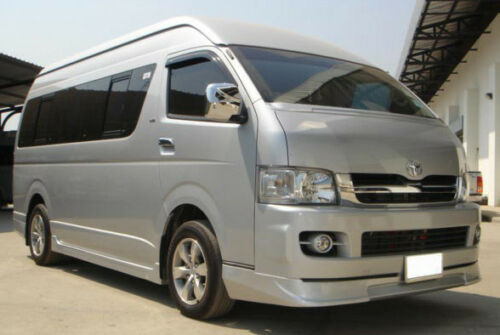 CHROME TAIL GATE ACCENT TRIM V.3 FOR TOYOTA HIACE COMMUTER 2005-2017