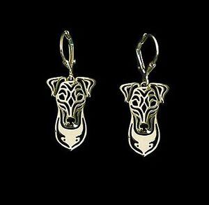 Fox-Terrier-Dog-Earrings-Fashion-Jewellery-Gold-Plated-Leverback-Hook