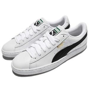 b428e76081 Puma Basket Classic LFS White Black Men Shoes Sneakers Trainers ...