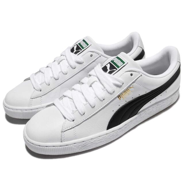 Puma Basket Classic LFS White Black Men Shoes Sneakers Trainers 354367 22