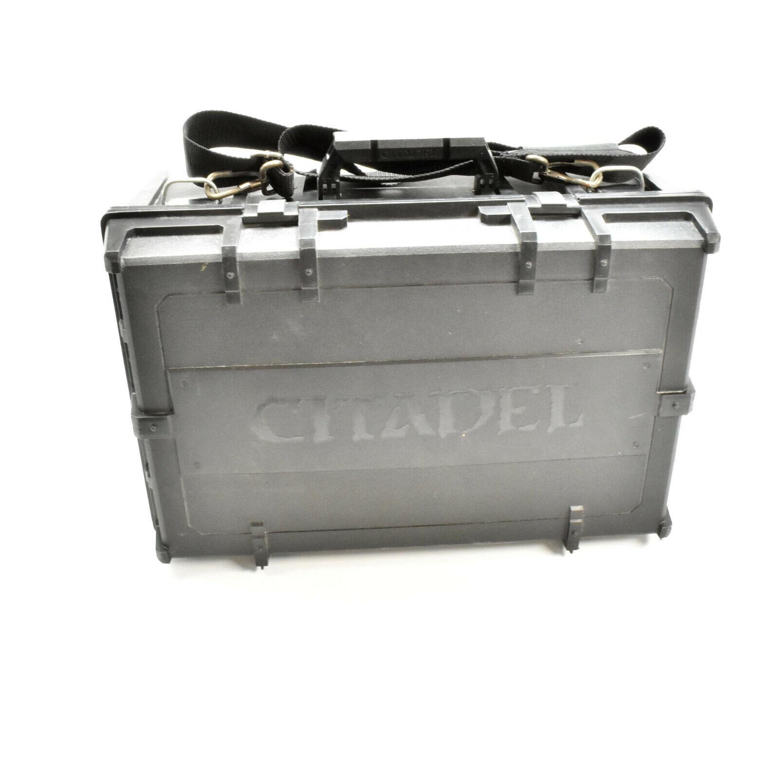spelverkstad Citadel Crusade Figur Case med föl S2 warhammer transport 40K