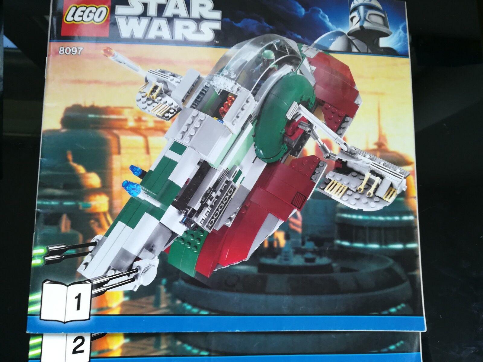 Lego Star Wars 8097 - Slave I Complet
