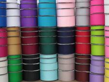 New 10 metres of Grosgrain Ribbon 10mm 16mm 25mm 38mm Various Colour