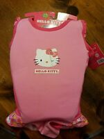 Hello Kitty Swim Trainer Swimsuit M/l 33-55 Lbs Pink