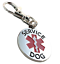 ALL-ACCESS-CANINE-Service-Dog-Emotional-Support-Animal-ESA-metal-dog-collar-tag thumbnail 4