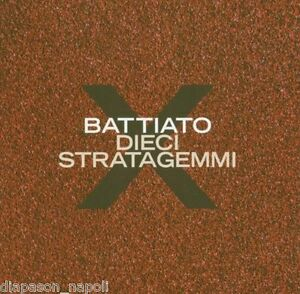 Franco-Battiato-Dieci-Stratagemmi-CD