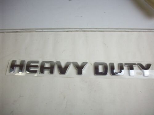 "Dodge Ram Truck /""Heavy Duty/"" Emblem Mopar 55077842AA New OEM Mopar 2500 Ram"