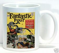 Fantastic Four Coffee Cup Mug Vintage Comic Book Collectible Gift Home Office