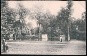 MECHANICSBURG-PA-Williams-Grove-Park-View-Antique-B-amp-W-Postcard-Early-Old-Vtg-PC