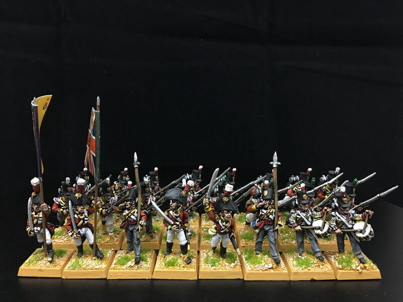 28mm Napoleonic War DPS painted British Line Infantry GH534