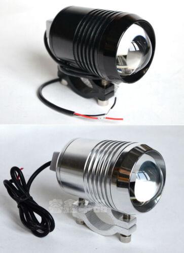 Motorcycle Bright Beam Waterproof 12V 30W CREE U2 LED Laser Spot Light w// Switch