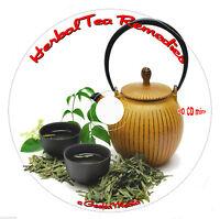Herbal Tea Remedies Cd Recipes Salves Tinctures Tonics Health Book Simple Folk