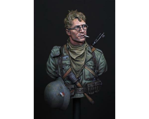 Life Miniatures, 1 10th Scale WW2 German 6th Army, Resin Bust, LM-B023 NIB