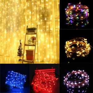 5M-50-LED-Christmas-Xmas-String-Fairy-Lights-USB-Copper-Wire-Party-Decor-Lamp-UK