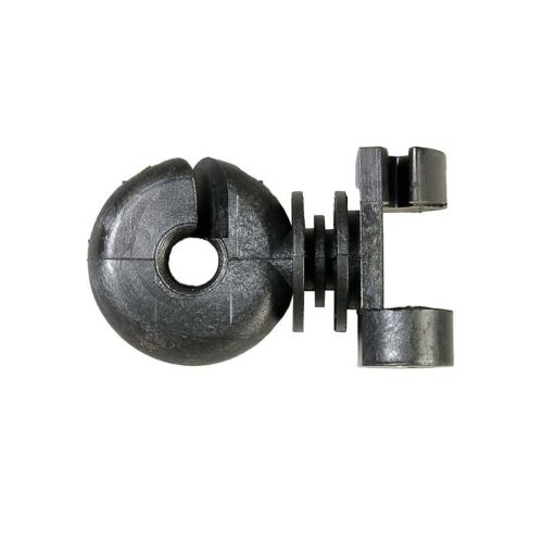 50 Stück Zusatzisolator Ring-Zusatzisolator Klemmfix Pack