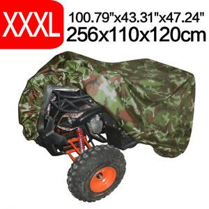 XXXL Waterproof ATV Storage Cover Fits Polaris Honda Yamaha Can-Am Suzuki Camo
