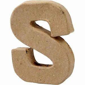 zum Verzieren und Basteln Buchstabe L aus Pappe handgearbeitet