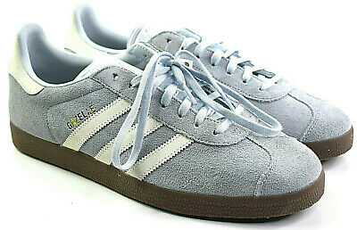 Adidas da Donna Camoscio Gazelle Allenamento Sneaker Tinta Blu Cloud Bianco   eBay