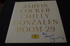 "PULP Jarvis Cocker signed Autogramm ""ROOM 29"" Vinyl Platte LP InPerson LOOK"