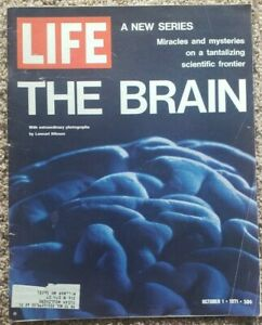 Life Magazine: October 1, 1971 The Brain