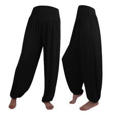 998e41a119 item 3 Womens Elastic Plus Loose Casual Modal Cotton Soft Yoga Sports Dance  Harem Pants -Womens Elastic Plus Loose Casual Modal Cotton Soft Yoga Sports  ...