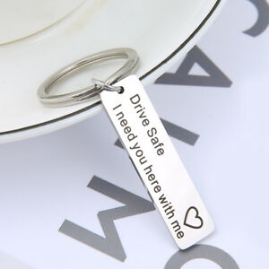 Drive-safe-I-need-you-here-with-me-Keychain-Keyring-Husband-Family-Heart-Gift