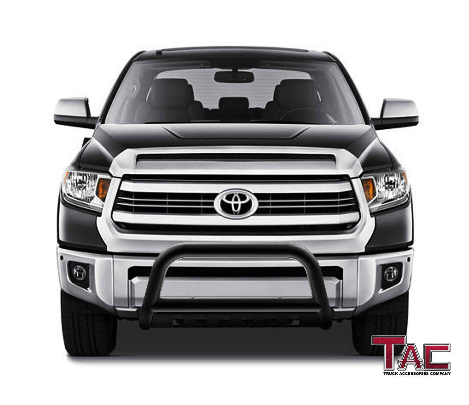 "2018 Toyota Sequoia Design: 3"" Black Bull Bar For 07-18 Toyota Tundra/08-18 Sequoia"
