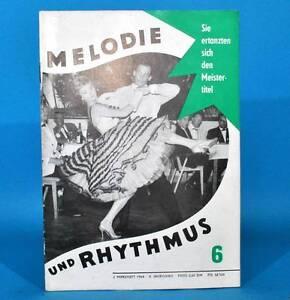 DDR-Melodia-y-Rhythmus-6-1964-Hermann-Hahnel-la-Kerstins-Giesela-May