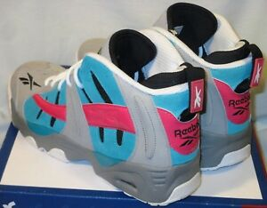 Details about NIB Mens 9.5 REEBOK RAIL San Antonio Spurs GREY TEAL Pink  RETRO BASKETBALL Shoes 28b9a2b6f6ea