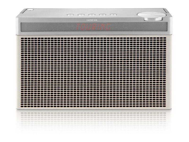 Geneva Touring L WHITE Portable blueetooth HiFi Speaker Radio FM DAB+
