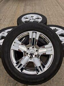 "20"" Inch Chevy Silverado Tahoe LTZ 2018 OEM CHROME wheels ..."