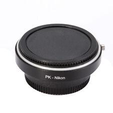 Adapter for Pentax PK K Lens to Nikon AF AI F Camera D750 D7200 D5500 D90 Glass