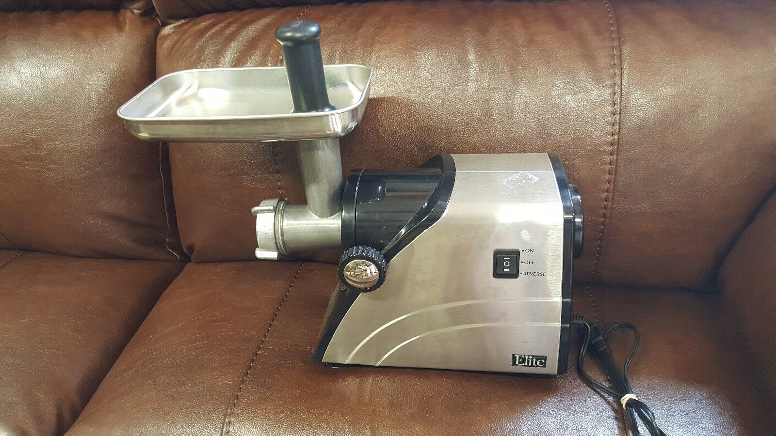Meat Grinder  Elite by Maxi-Matic Stainless Steel HA-3433A