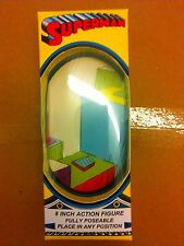 Superman Mego 8 inch Action Figure style window packaging box