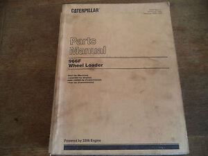 Obligeant Caterpillar 966 F Parts Book-afficher Le Titre D'origine ArôMe Parfumé