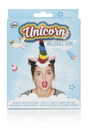 Inflatable Unicorn for the Day Inflatable Unicorn Horn Novelty Costume