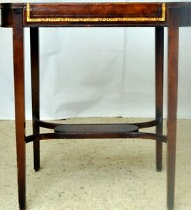Merveilleux Image Is Loading Vintage Small Corner Table With A Lower Shelf