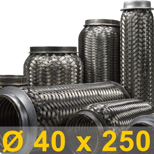 mm flexibles Rohr Auspuff universal Ø 40 x 250 Länge