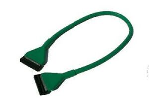 2 ft Round Floppy Drive Cable 34 pin Green