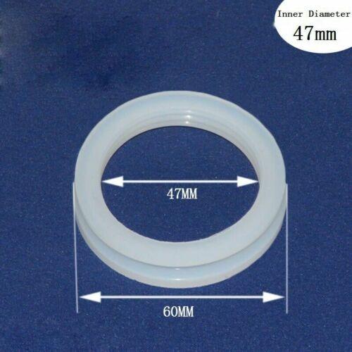 Silikon Versiegelung Ringe Dichtungen Distanzscheiben Ersatz für 10//20stk