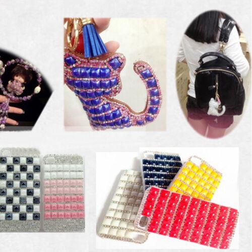 1000 Mix Color Cabochon Bijoux Fournitures Flatback Verre Céramique Carré