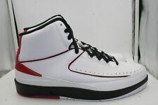 various colors f8580 648e5 Air Jordan Retro 2 GF size 10.5 2010 White Black Varsity Red II