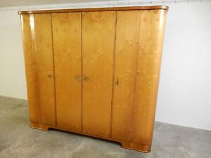 Details zu Schlafzimmer aus den 50er Jahren Bett ,Schrank, Spiegelkommode,  2 Nachtkästchen