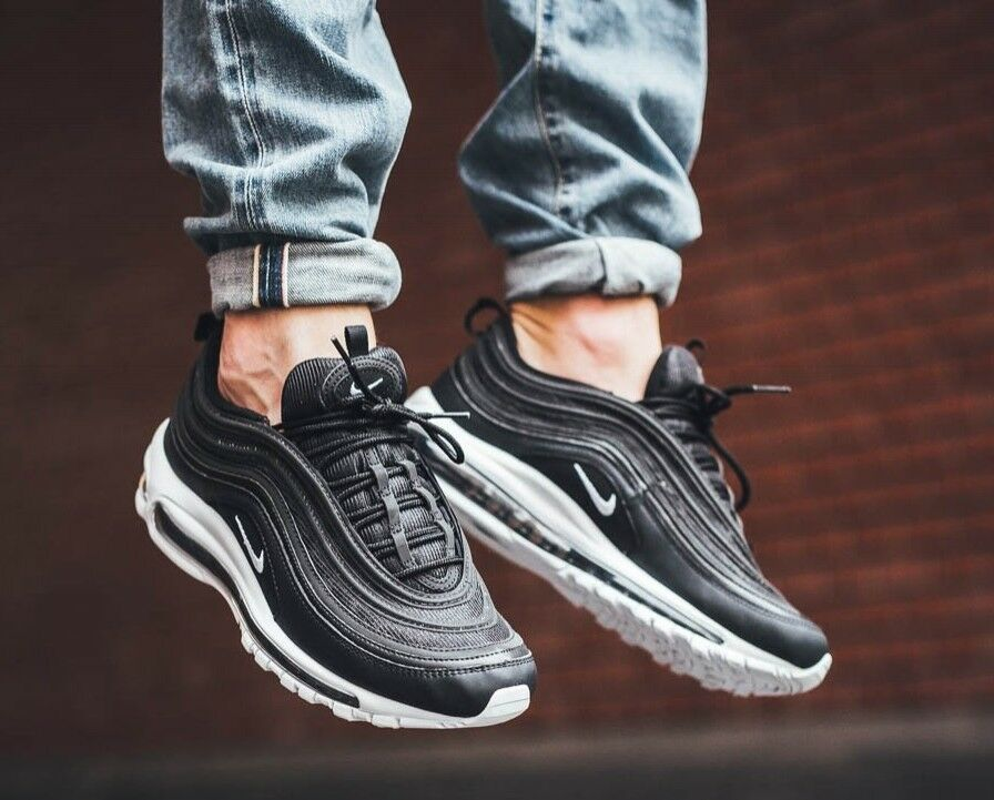 pick up ed54e c3819 Nike Air Max 97 Blanco Negro. ""