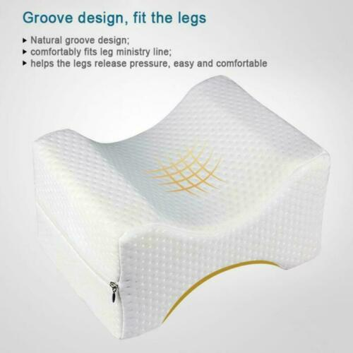 Knee Leg Elevation Wedge Bed Pillow Memory Foam Back Lumbar Support For Sleeping