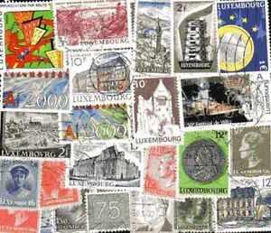 Luxemburgo-500-sellos-diferentes